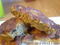 Фото к рецепту: Печеночные оладьи