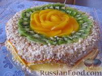 """Фото к рецепту: Торт """"Сливочный"""""""