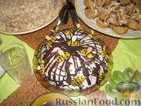Фото к рецепту: Сметанно-желейный тортик
