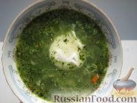 Фото к рецепту: Суп со шпинатом