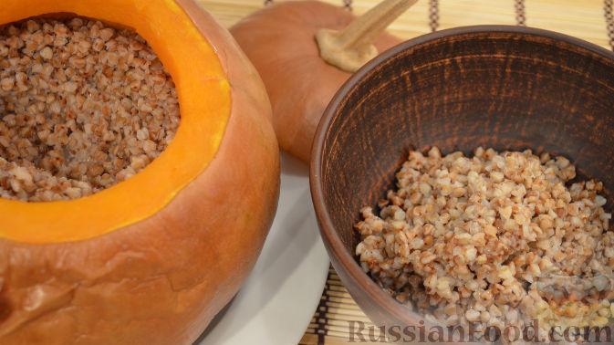Рецепт Гречневая каша в тыкве
