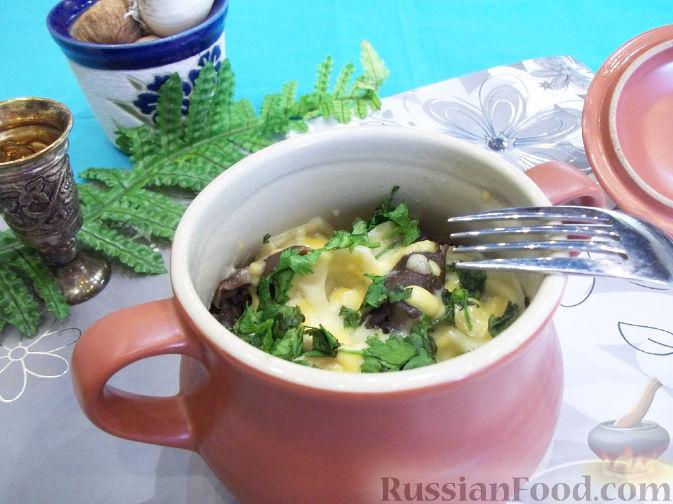 Постные блюда в горшочках  рецепты с фото на Поварру 24
