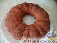 Фото к рецепту: Кекс томатный с изюмом (постный)