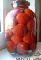 Фото к рецепту: Маринованные помидоры под водку