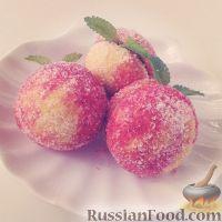 """Фото к рецепту: Пирожные """"Персики"""""""