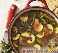 Фото к рецепту: Овощной суп с цуккини
