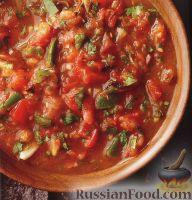 Фото к рецепту: Томатная сальса