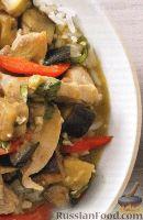 Фото к рецепту: Карри из курицы с овощами