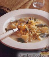 Фото к рецепту: Суп с кукурузой и фасолью