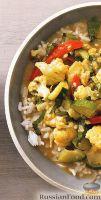 Фото к рецепту: Карри из курицы и цветной капусты