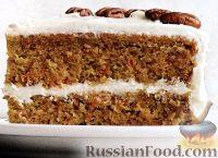 Фото к рецепту: Торт из моркови и цуккини