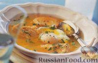 Фото к рецепту: Чесночный суп с яйцами-пашот