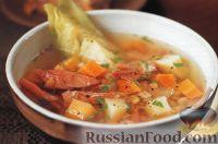 Фото к рецепту: Ирландский суп из свинины