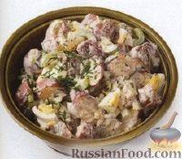 Фото к рецепту: Картофельный салат с яйцами