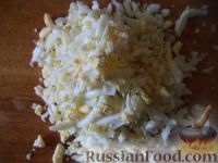 Фото приготовления рецепта: Салат «Французский» - шаг №5