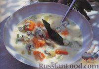 Фото к рецепту: Тыквенный суп с рисом