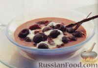 Фото к рецепту: Венгерский вишневый суп