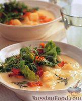 Фото к рецепту: Картофельный суп с сельдереем