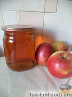 Фото к рецепту: Натуральный яблочный сок
