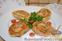 Фото к рецепту: Рулетики из лаваша с картошкой и колбасой