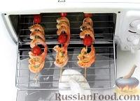 Фото к рецепту: Шашлычки из креветок