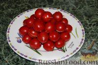 Фото к рецепту: Фаршированные помидоры черри
