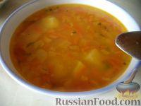 Фото к рецепту: Суп гороховый с картофелем