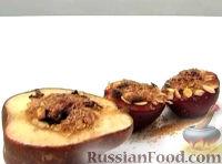Фото к рецепту: Запеченные груши и сливы