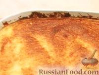 Фото к рецепту: Десерт-суфле с бананами