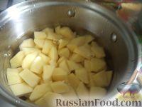 Фото приготовления рецепта: Картофельные котлеты с куриным мясом - шаг №3