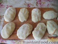 Фото приготовления рецепта: Картофельные котлеты с куриным мясом - шаг №8
