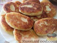 Фото приготовления рецепта: Картофельные котлеты с куриным мясом - шаг №11