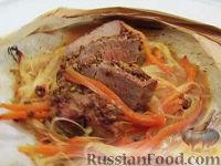 Фото к рецепту: Запеченная телятина с горчицей
