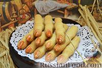 """Фото к рецепту: Печенье """"Ведьмины пальчики"""""""