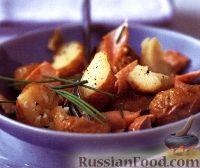 Фото к рецепту: Картофельный салат с форелью