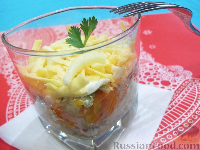 что входит в салат мимоза рецепт