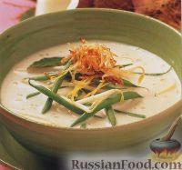 Фото к рецепту: Балийский суп из стручковой фасоли