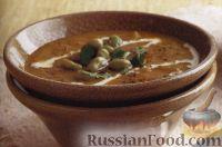 Фото к рецепту: Каталонский картофельный суп-пюре с бобами