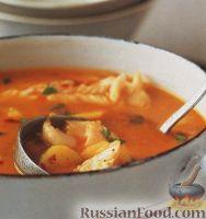 Фото к рецепту: Испанский рыбный суп с апельсиновым соком