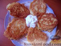 Фото к рецепту: Оладьи из кабачков