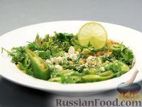 Фото к рецепту: Эскитес - салат из кукурузы