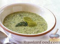 Фото к рецепту: Виноградный суп-пюре с огурцом