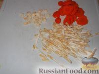 Фото приготовления рецепта: Перец, маринованный с маслом (болгарский способ) - шаг №5