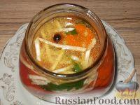 Фото приготовления рецепта: Перец, маринованный с маслом (болгарский способ) - шаг №8