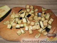Фото приготовления рецепта: Баклажаны с чесноком - шаг №2