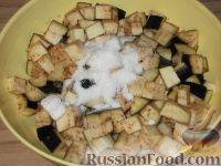 Фото приготовления рецепта: Баклажаны с чесноком - шаг №3
