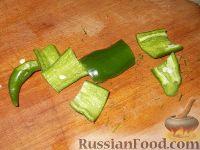 Фото приготовления рецепта: Баклажаны с чесноком - шаг №5