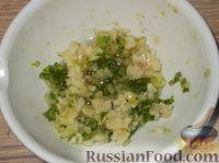Фото приготовления рецепта: Баклажаны с чесноком - шаг №7