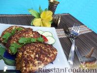 Фото к рецепту: Рыбные котлеты с картофелем