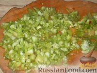 Фото приготовления рецепта: Фаршированные зеленые помидоры - шаг №6